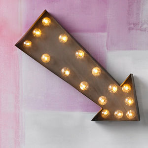 Arrow LED Carnival Light - room decorations