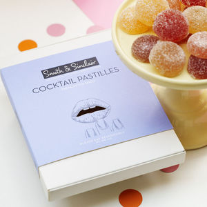 Box Of 12 Cocktail Pastilles - 40th birthday gifts