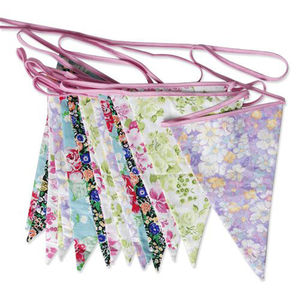 Floral Bunting - art & decorations