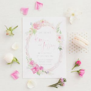 Secret Garden Wedding Invitation - invitations