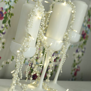 Elegant Pearl Fairy Lights - lighting