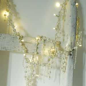 Elegant Pearl Fairy Lights - room decorations