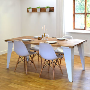 Reclaimed French Oak Dining Room Table - kitchen