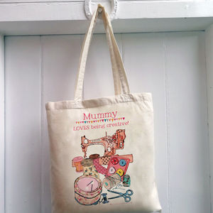 Personalised 'Sewing' Bag - bags