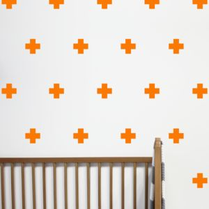 Mini Cross Wall Stickers - children's room