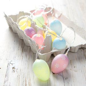 Pastel Easter Egg Fairy Lights
