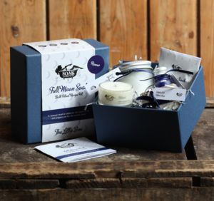 Full Moon Luxury Bath Soak Set The Little Box - for grandmothers