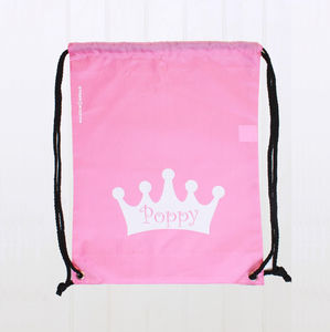 Personalised Princess Bag - baby & child sale