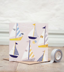 Sail Away Card