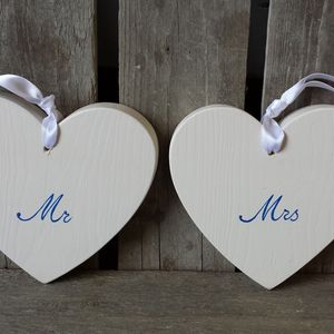 Mr And Mrs Hearts