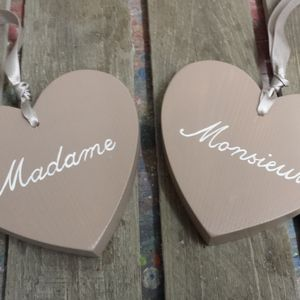 Madame And Monsieur Hearts - room decorations
