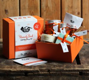 Remedy Soak Bath Ritual Recipe Kit The Little Box - organic pampering sets