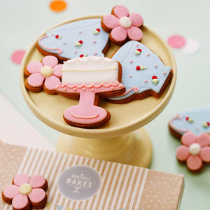 Afternoon Tea Biscuit Gift Box - cakes & sweet treats