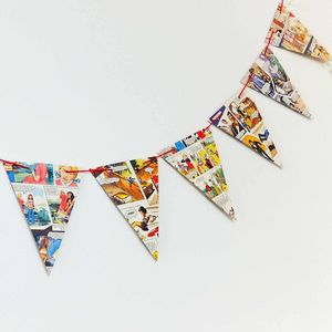 Mandy Comic Bunting