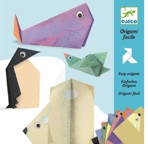 Easy Origami Animal Papers - half-term activities