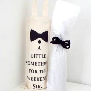 Wine Bottle Gift Bag - gift bags & boxes