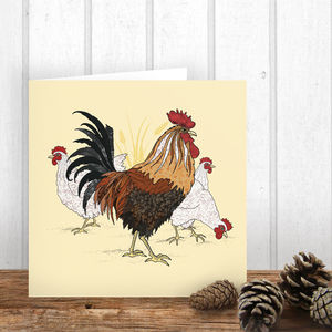 Chickens Card - cards & wrap