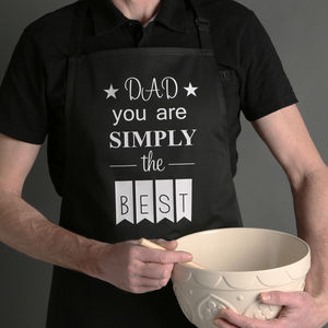 Best Dad Ever Apron - kitchen accessories