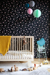 Contemporary Wooden Cotbed - baby's room