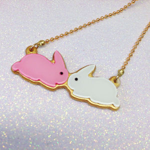 Bunny Kisses Necklace - children's jewellery