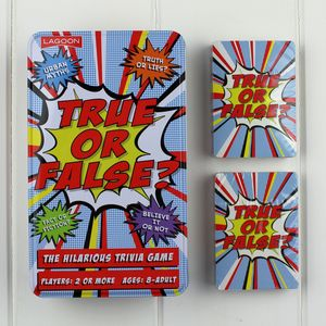 'True Or False' Game - board games & puzzles