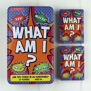 'What Am I?' Tinned Game Family Fun - board games & puzzles