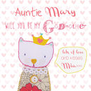 'Will You Be My Godmother/Godfather' Personalised Card