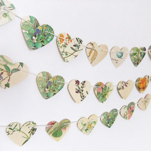 Hearts Bunting - occasional supplies