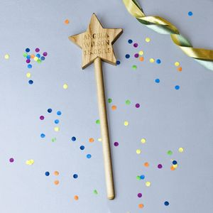Personalised Handmade Wooden Magic Wand - handmade toys and games