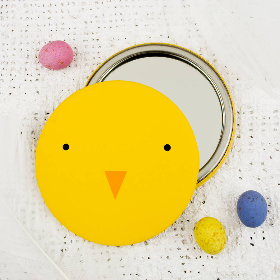 Chick Pocket Mirror Or Magnet