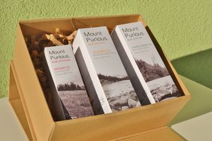 Organic Body, Face, Hair Vegan, Cruelty Free Gift Box - gift sets