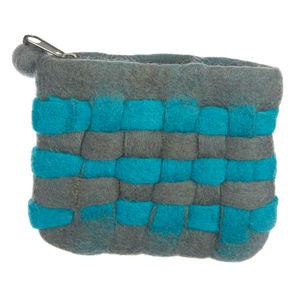 Handmade Felt Woven Purse - bags & purses