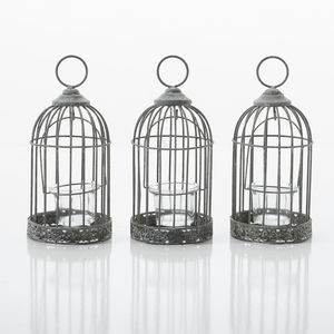 Birdcage Tea Light Holder - outdoor decorations