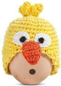 Happy Bird Egg Warmer - egg cups & cosies