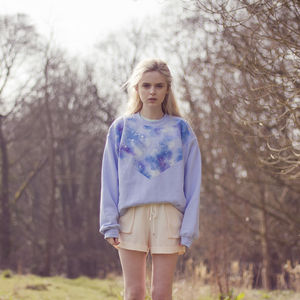 Hand Painted Galaxy Jumper - women's fashion