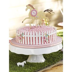 Pony Party Cake Decorations