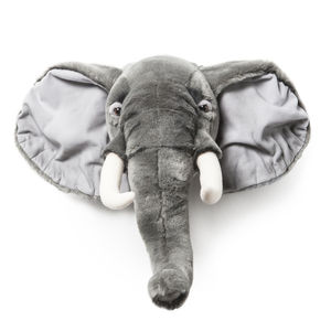 George The Elephant Plush Animal Head