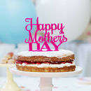 Personalised Mother's Day Cake Topper