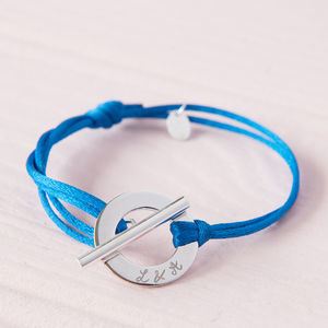 Personalised Toggle Bracelet - jewellery for women