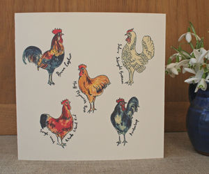 The Whole Hen House - birthday cards