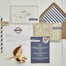 Vintage London Save The Date