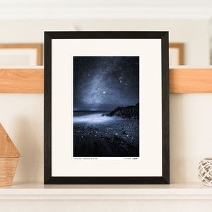 'Midnight Blue' Night Sky Print - posters & prints