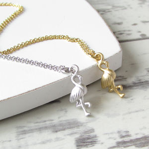 Flamingo Necklace - children's jewellery