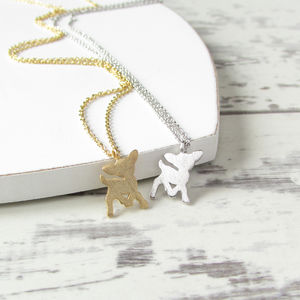 'Bambi' Mini Deer Necklace - necklaces