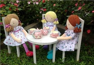 Rag Dolls, Fran, Katy And Peggy - toys & games