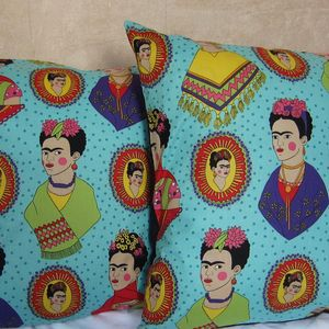 Frida Kahlo Fantastico Cushion Cover - patterned cushions