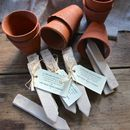 Reusable Ceramic Plant Markers