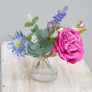Pink Silk Bouquet - artificial flowers & plants
