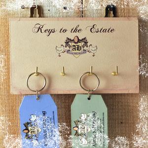 Key Rack 'Keys To The Estate'