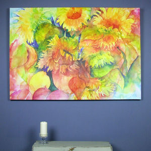 Sunflowers Limited Edition Fine Art Canvas Print - art-lover